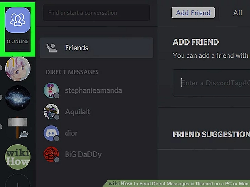 How to Send a Message on Discord 2